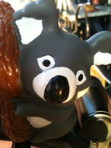 My new Koala Bear Bike Horn will make sure people get out of my way in NYC.