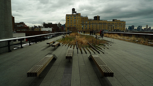 Another view the High Line.  Photo by Marcin Wojcik.