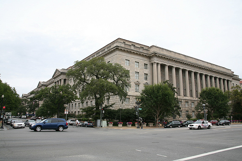 The much maligned Department of Commerce Building.