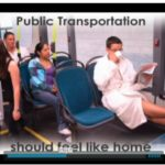 "One line of the video even says, ""public transportation should feel like home."" Photo courtesy of Y4PT."