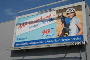 AAA moves to biker assistance in Oregon and Idaho. Photo by Jonathan Maus.