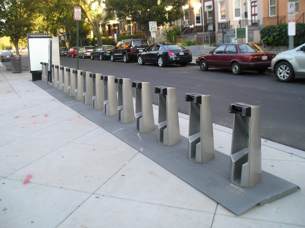 D.C.'s Capital Bikeshare program. Photo via Park View, D.C.
