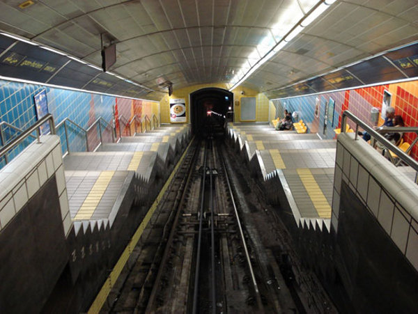 Another image of the subway system.