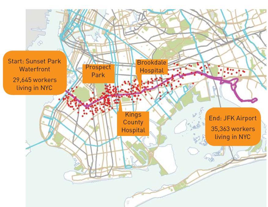 pratt 1 route