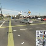 Image of the intersection in Salt Lake City via google maps.