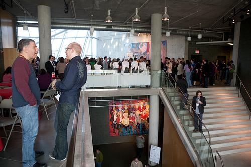 The TEDxMidAtlantic event. Photo by Christiana Aretta.
