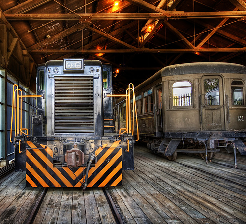 Will the U.S. ever move forward with upgrading its rail network? Photo by Trey Ratcliff.