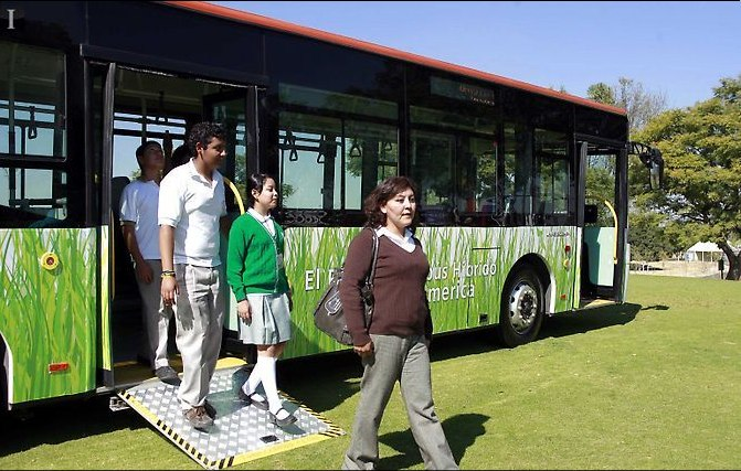 Two new hybrid buses are now in circulation