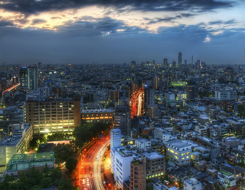 The future of the world's cities is not the car. Photo of Tokyo by Trey Ratcliff.