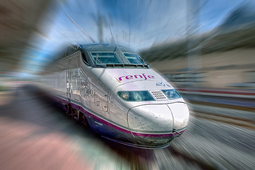 Spain has overtaken France as Europe's high-speed rail leader with the opening of a new line this week. Photo by Marc.