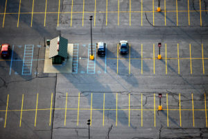 At any given moment, there are 500 million parking spaces sitting empty in the United States. Photo by Jeffrey Smith.