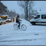 Friday Fun: Cycling in the Snow