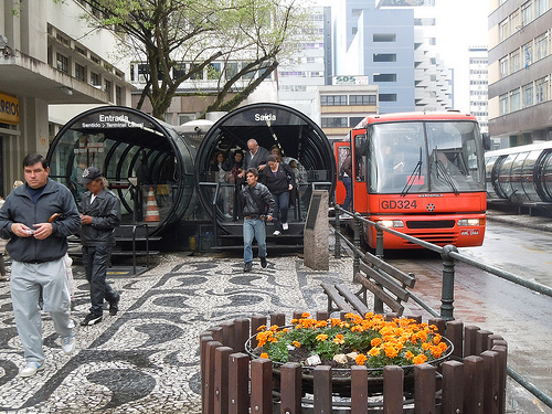 Curitiba is internationally recognized for its integrated transport and land use policies and projects. Photo by ...your local connection.
