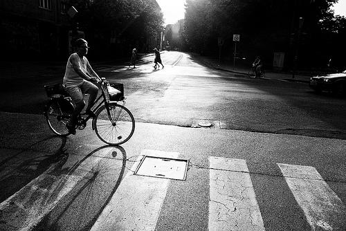 Bike culture is growing in Ljubljana, Slovenia. Photo by Robert Mann.