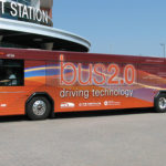 "The Minnesota Valley Transit Authoritywrapped 10 buses in a clever ""Bus 2.0"" livery to publicize new intelligent transport system (ITS) technologies. Photo via EMBARQ."