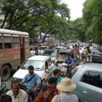 Pune is trying to find solutions for its heavily congested streets. Photo by Ted.