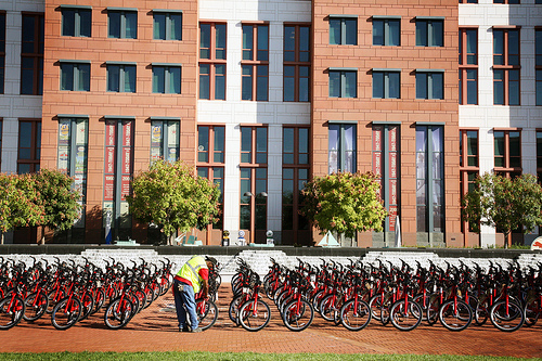 Capital Bikeshare might have to add a new fleet of bicycles to its program after its popularity with LivingSocial Deals. Photo by DDOT DC.