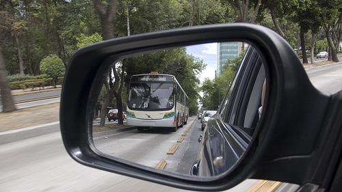Mexico City's Metrobus. Photo by Eduardo Ortiz.