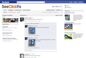 SeeClickFix Launches Facebook Application