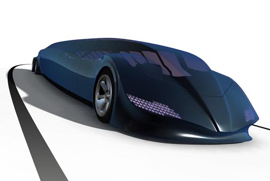 """Superbus"" generates attention with capabilities of both buses and sports cars. Photo by Smartplanet.com"