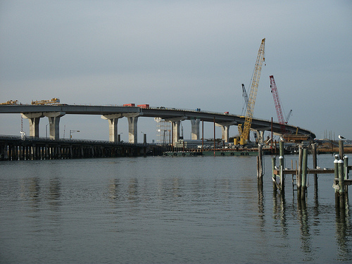 NJDOT's 2012 budget proposal allocates the largest share in a decade to road and bridge expansion programs. Photo by dougtone.