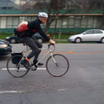 Survey finds participating on Bike to Work Day often creates lasting habit. Photo by Richard Masoner.