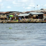 The slums in Lagos, Nigeria are especially vulnerable to the flooding due to climate change. The report suggests... Photo by Heinrich-Böll-Stiftung