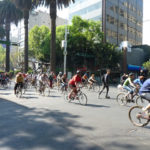 Mexico City has been experiencing a rise in its bicycle culture. Photo by Dani Simons.