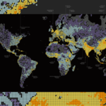 """Dencity"" Visualizes Seven Billion People"