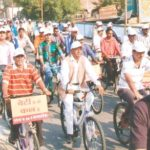 Bicycle Rally Rolls Out for Madhya Pradesh Foundation Day
