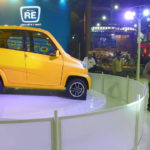 Bajaj unveiled its new four-wheeler vehicle at the 2012 Auto Expo. Photo by vm2827.