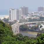 Rio de Janeiro unveiled the first station of its forthcoming bus rapid transit system, which conntects Barra da Tijuca (pictured above) to Deodoro, Photo by Rodrigo Soldon.