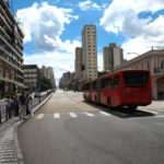 Curitiba, Brazil is known for being the birthplace of BRT. Photo by Robert Blackie.