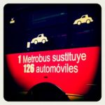 1 Metrobus substitutes 126 automobiles. Photo by Mariana Gil / EMBARQ Brazil.