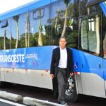 EMBARQ Brasil Director Toni Lindau and the new Transoeste BRT