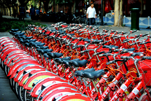 bicycle sharing system in wuhan china Feasibility study of electric bicycle sharing in the xiasha district of hangzhou, china  wuhan's bicycle sharing system became very popular after it started in.