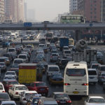 Congestion in Urban China is appalling...and growing. Photo by Liang Zhi Gou.