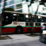 BRT systems move 24 million people over 3,781 kilometres of road daily. Photo by Erwin Morales.