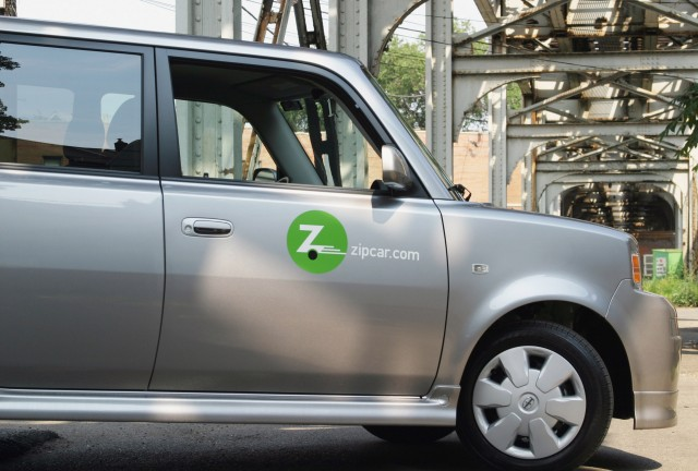 Zipcar, recently acquired by Avis, offers