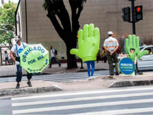 Campaign launch, Belo Horizonte, Brazil.
