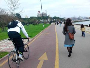 Turning Istanbul into a bike city. Photo by bicyclemark.