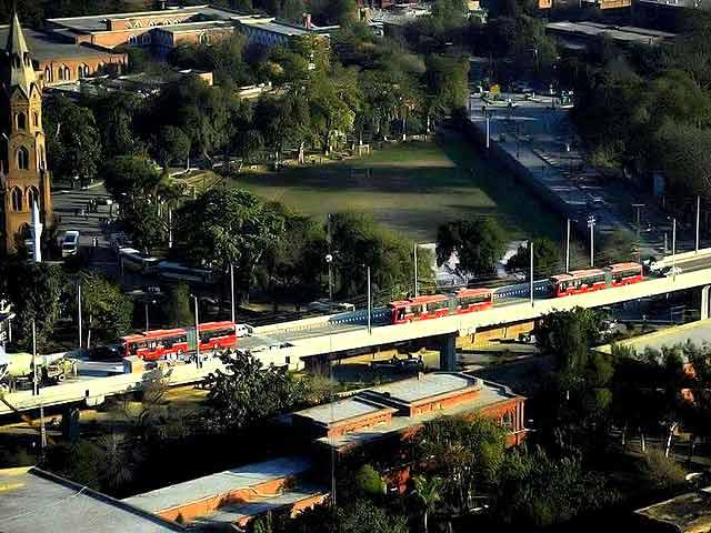Lahore Metro Bus