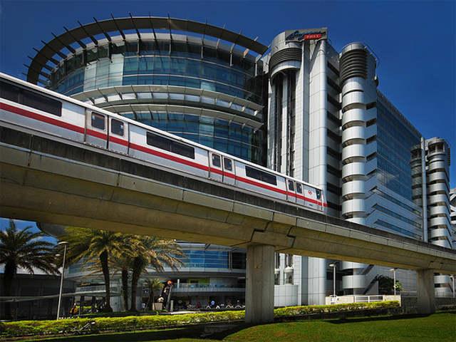 Singapore Mass Rapid Transit system (MRT). By williamcho.