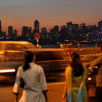 Chowpatty cityscape, Mumbai, India. Photo by Tom Spender.