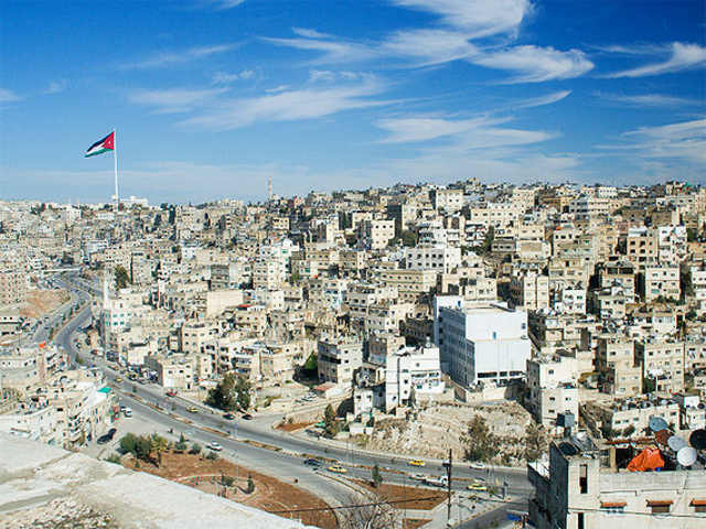 Amman cityscape. Photo by David Bjorgen.