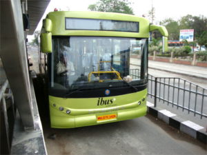 Indore iBus. Photo by Dario Hidalgo.