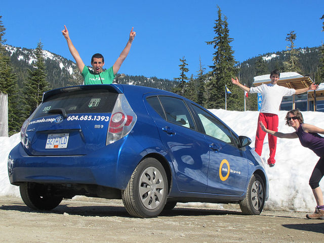 Meet Modo, the car-sharing co-operative in Vancouver, Canada. Photo by Canadian Veggie.
