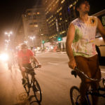 Cyclists in Brazil