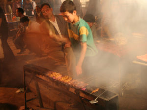 Beijing bans street barbeques in effort to improve air quality