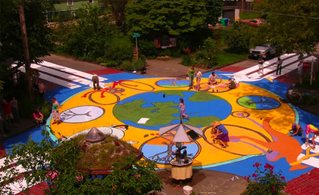 """Intersection Repair"""" began in Portland, OR, as part of a City ..."""